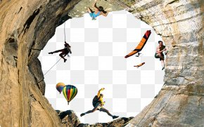 Cave - Rock Climbing Outdoor Recreation Sport Mountaineering PNG