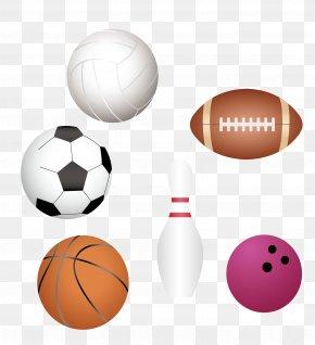 Vector Football - Ball Game Football Sports Equipment PNG