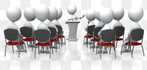 Large Group Cliparts - Presentation Seminar Audience Clip Art PNG