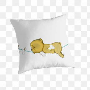 DOG POOPING - Throw Pillows Cushion Textile Font PNG