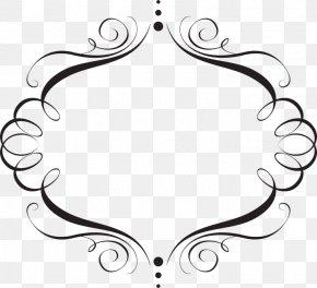 Elegant Frame Cliparts - Wedding Invitation Idea Clip Art PNG