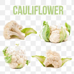 Cauliflower Buckle Creative Photography Markets HD Free - Cauliflower Vegetable Auglis Graphic Design PNG