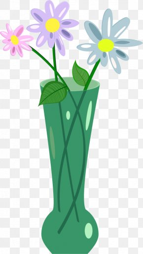 Vector Hand-painted Glass Vase - Vase Glass Flower Floral Design PNG