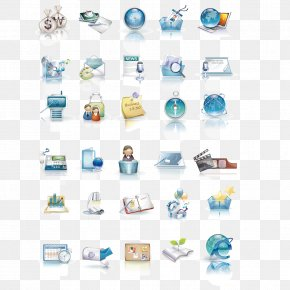 Beautiful 3D Style Business Icon Vector Material - Business 3D Computer Graphics Icon PNG