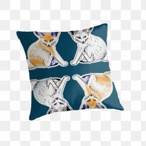 Fennec Fox - Throw Pillows Cushion Textile Material PNG