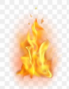 Fire Flame Transparent Clip Art - Flame Clip Art PNG
