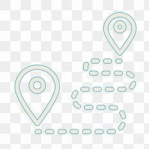 Blackandwhite Number - Navigation Icon Travel Icon Destination Icon PNG