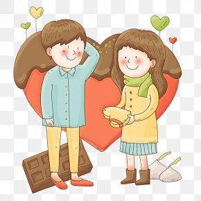 Lovely Couple - Love Clip Art PNG