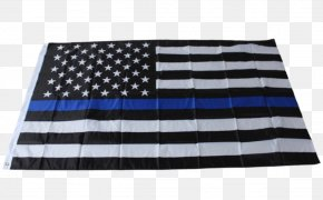 United States - Flag Of The United States The Thin Red Line Thin Blue Line PNG