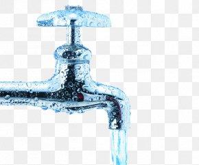 Flowing Water - Tap Drinking Water Drop Liquid PNG