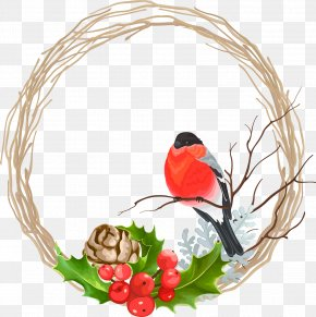 Creative Christmas Wreath - Christmas Wreath Garland PNG