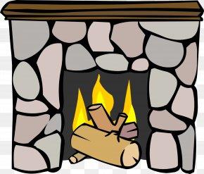 Igloo - Club Penguin Igloo Fireplace Furniture Chimney PNG