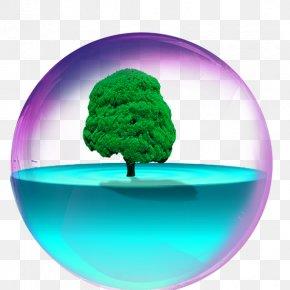 Cartoon Color Crystal Ball - Crystal Ball Sphere PNG
