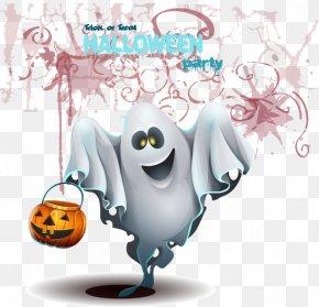 Ghost Halloween Horror Elements - Ghost Halloween Clip Art PNG