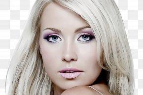 Cheek Beauty - Hair Face Eyebrow Blond Skin PNG