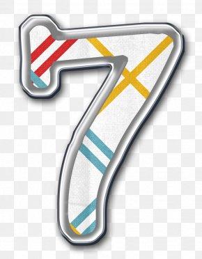 Number 7 - Numerical Digit Symbol Number Digital Data PNG