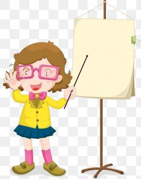 Hand-painted Pattern Teacher - Teacher Education Stock Illustration Illustration PNG