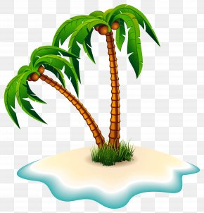 Palm Trees And Island Clipart Image - Dead Island Clip Art PNG