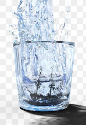Glass Water - Drinking Water Glass Tap PNG