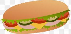 Sandwich Cliparts - Submarine Sandwich Tuna Fish Sandwich Italian Sandwich Ham And Cheese Sandwich Clip Art PNG