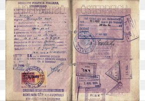 Dumpling Is The Trials Of A Long Journey. - Second World War German Passport Diplomatic Mission Europe PNG