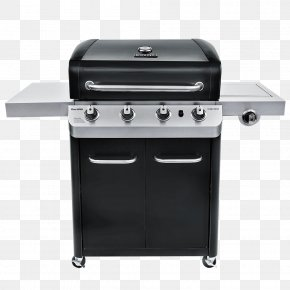 Barbecue - Barbecue Grilling Char-Broil Signature 4 Burner Gas Grill Asado PNG