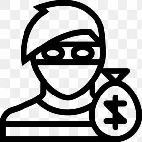 Thief Icon - Crime Theft Criminal Law Robbery PNG