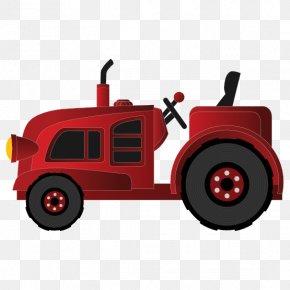 Vector Wagon - John Deere Farmall Case IH International Harvester Clip Art PNG