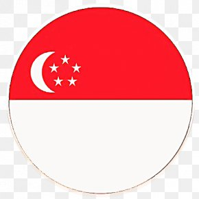 Red Index Term - Singapore Flag Background PNG