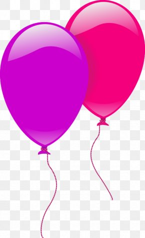 Party Balloons Clipart - Balloon Birthday Party Clip Art PNG