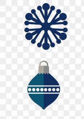 Christmas Snowflake Lob Vector - Christmas Euclidean Vector Reindeer Snowflake PNG