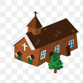 Rural Church - Church Rural Area Clip Art PNG