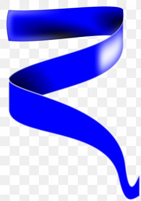 Royal Ribbon Cliparts - Blue Ribbon Clip Art PNG