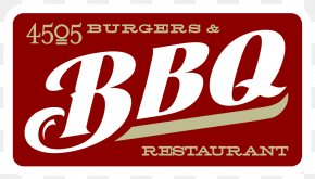Barbecue Logo - 4505 Burgers & BBQ Barbecue Hamburger Pulled Pork Restaurant PNG