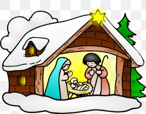 Religious Advent Cliparts - Bethlehem Christmas Religion Clip Art PNG