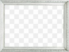 Silver Frame Pattern - Picture Frame Silver PNG