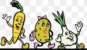 Root Vegetable Finger - Vegetables Cartoon PNG