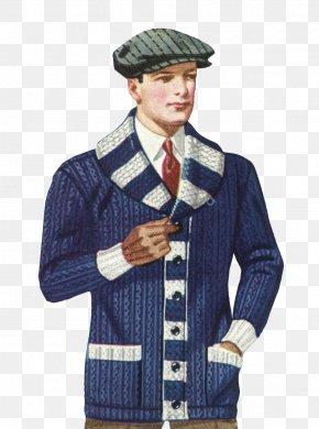 Wool - 1920s Sweater 1930s Cardigan Fashion PNG