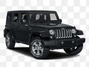 Jeep Wrangler (JK) - 2018 Jeep Wrangler JK Unlimited Sahara Chrysler Dodge Sport Utility Vehicle PNG