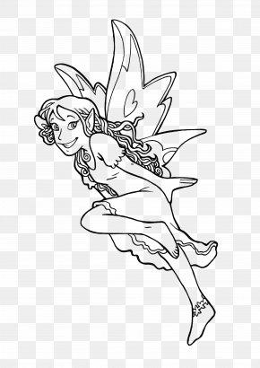Magic Book - Coloring Book Drawing Elf Fairy Legendary Creature PNG