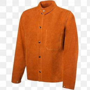 Jacket - Leather Jacket T-shirt Welding Leather Jacket PNG