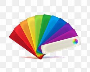 Colour Fan - Color Palette Icon PNG