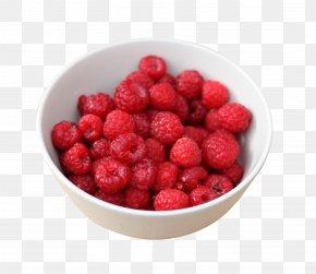 Raspberry In Bowl - Smoothie Raspberry Frutti Di Bosco Breakfast PNG
