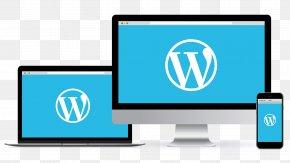 Web Content - Computer Monitors WordPress Blog Theme Responsive Web Design PNG