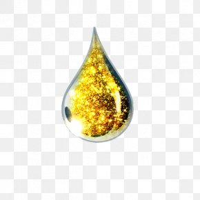 Gold Drops Flash - Essential Oil PNG