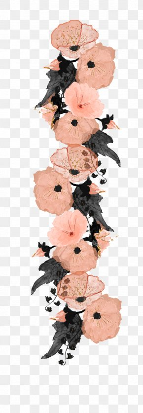 Hand-painted Decorative Pink Flower - Flower Pink Clip Art PNG
