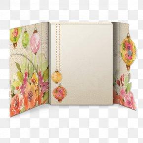 Design - Paper Picture Frames Floral Design Rectangle PNG