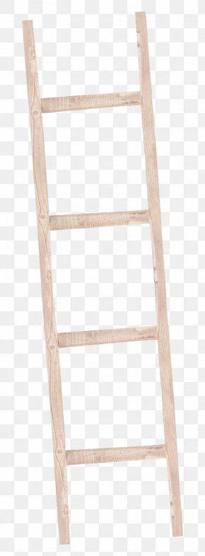 Ladder - Wood Ladder PNG