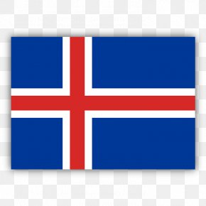 Flag - Flag Of Iceland Nordic Cross Flag National Flag PNG