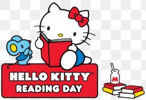 Hello Kitty Reading - Hello Kitty Online Hello Kitty, Hello Fall! Reading Book PNG